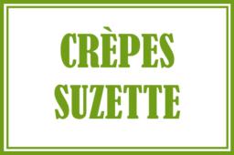 Crèpes suzette